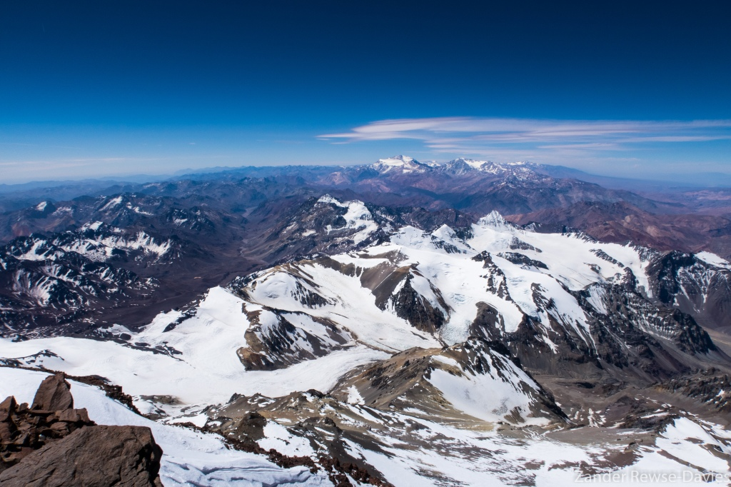 The view from the top, Aconcagua