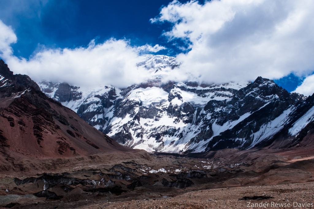 Aconcagua in the clouds