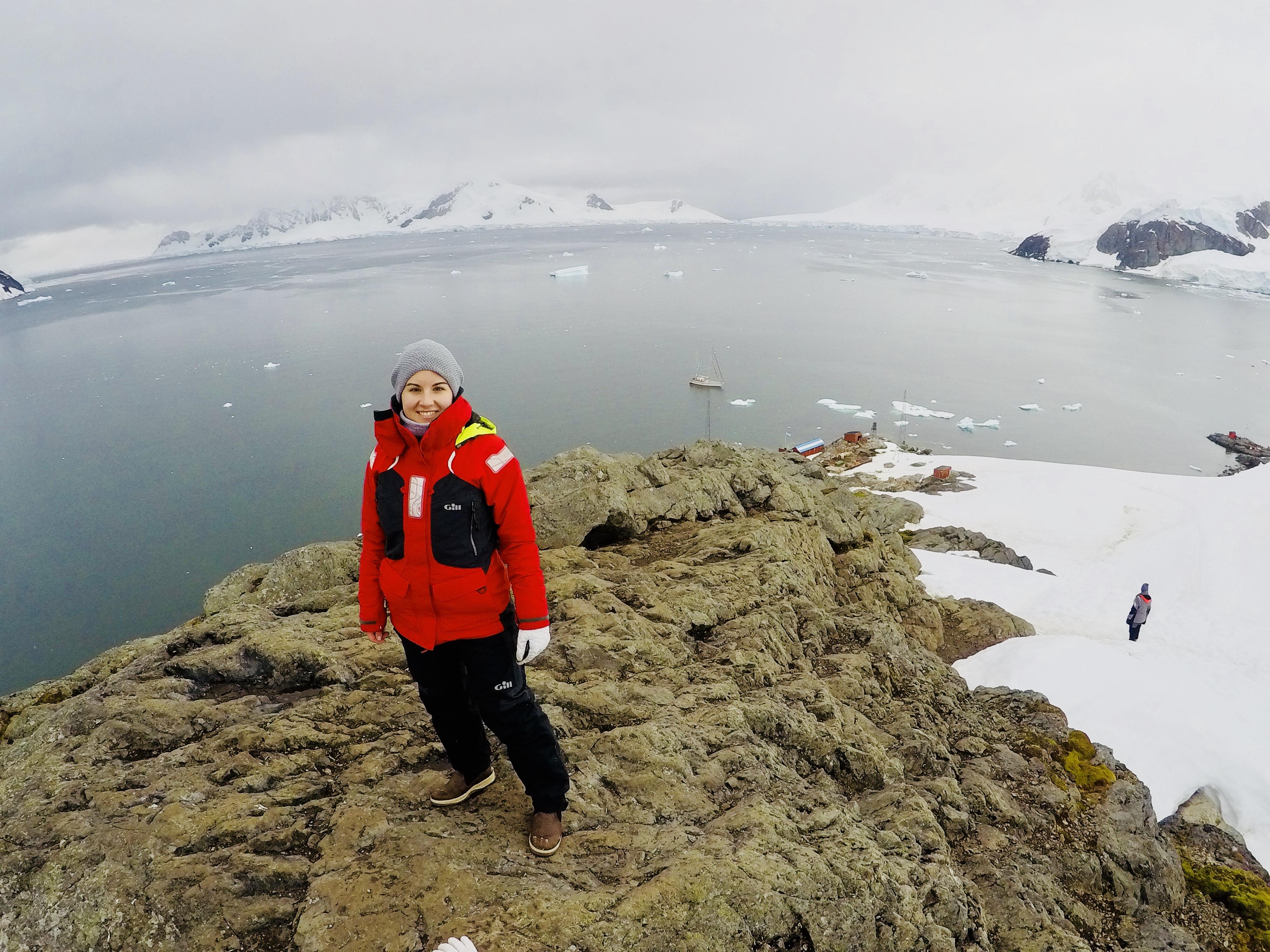 Alexandra sailing to Antarctica
