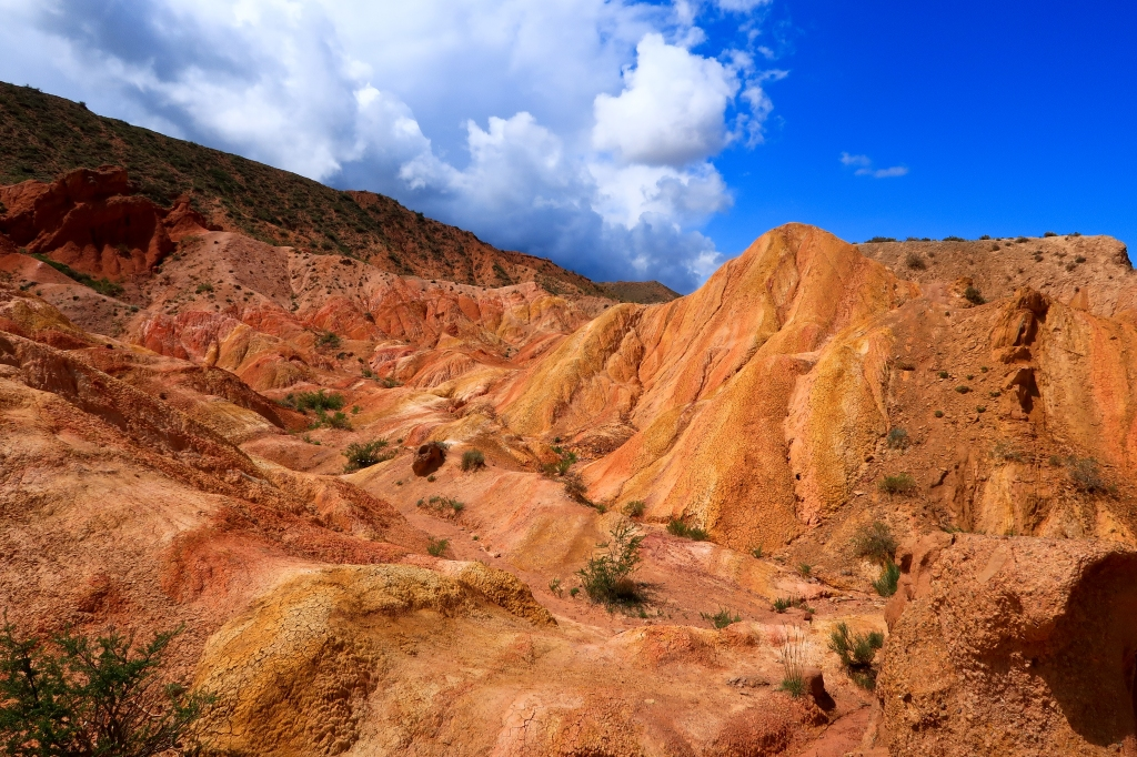 Fairytale Canyon in Kyrgyzstan