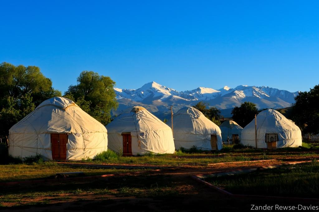 The Gentleman Explorer - Kyrgyz Yurts