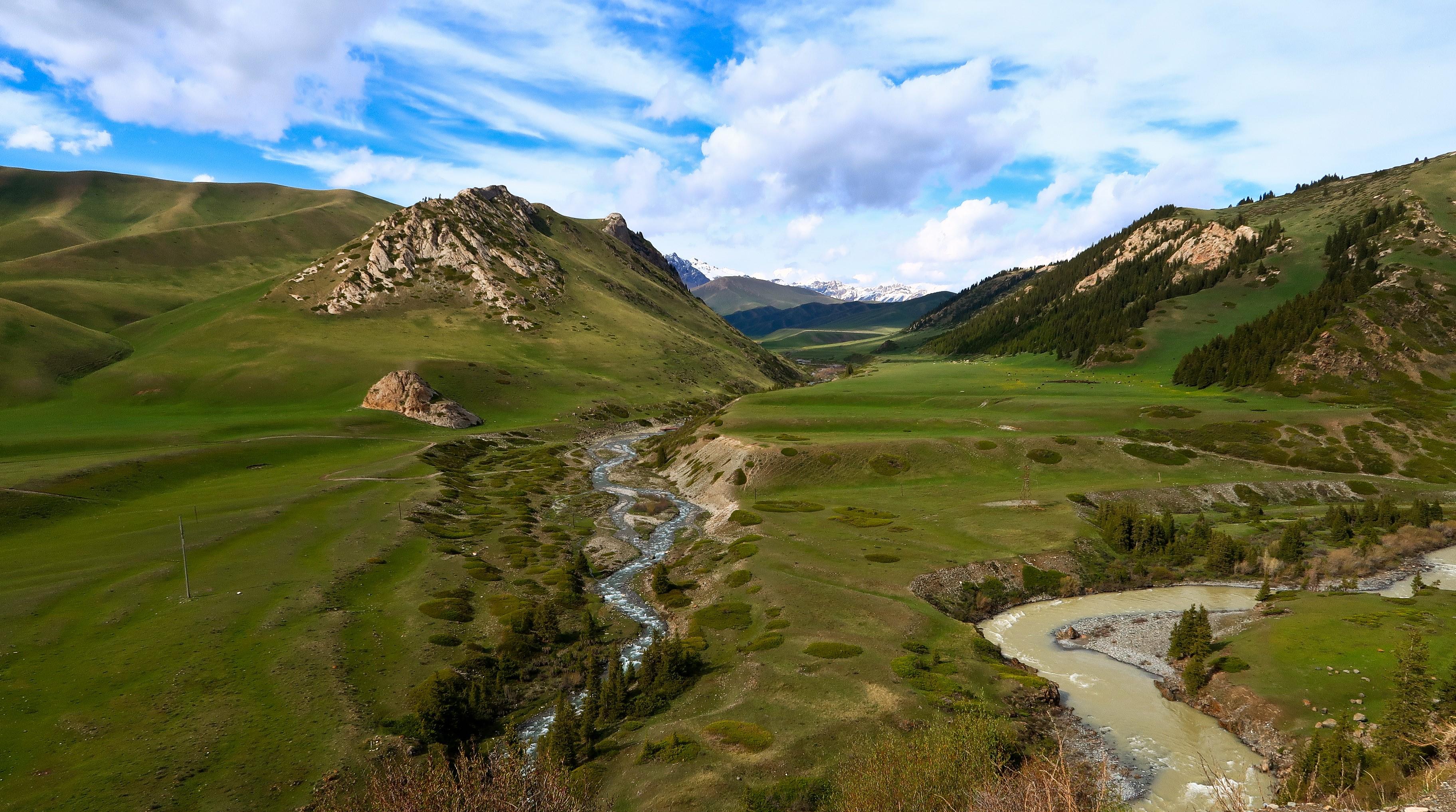 Kyrgyzstan river view