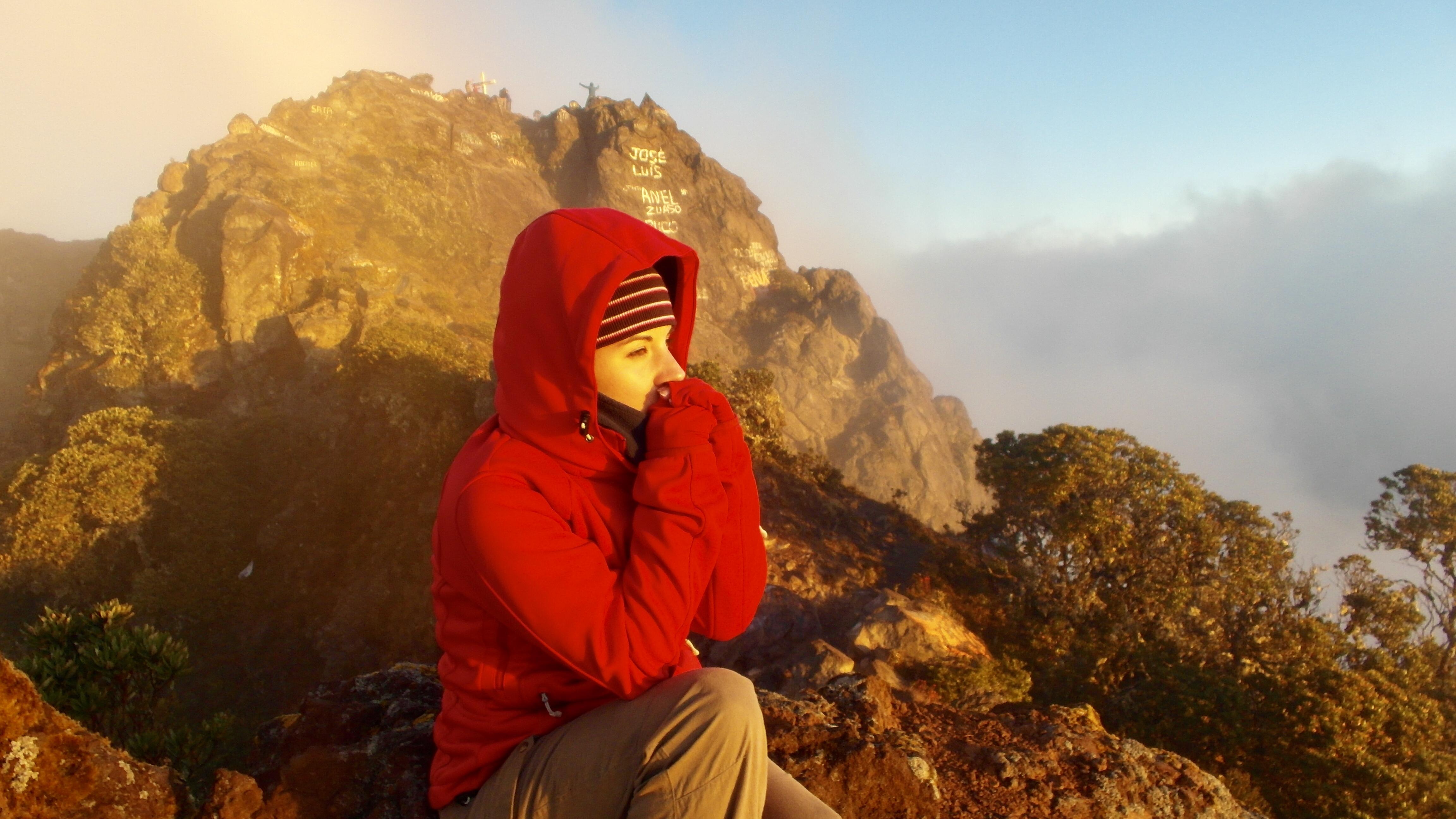 Summit of Volcán Barú, Panama