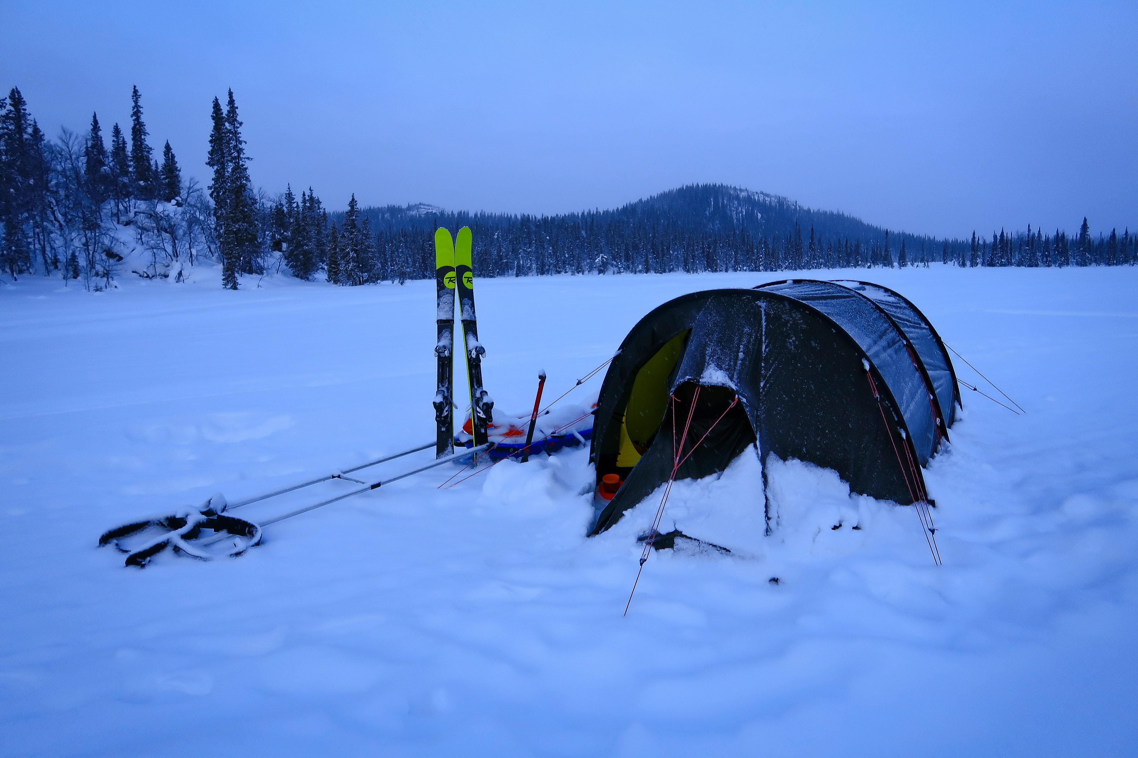 The right tent to take on any expedition with tough conditions