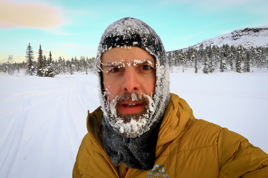 Brutal temperatures at the start of the expedition