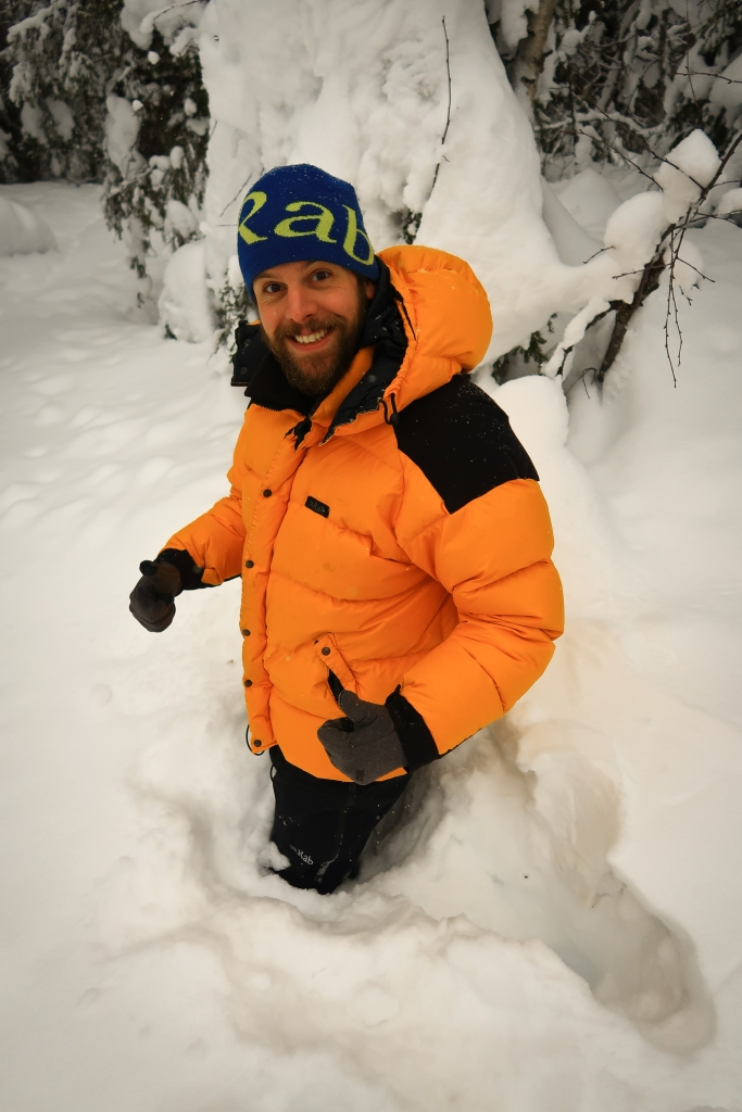 Sinking in Deep Snow - The Gentleman Explorer